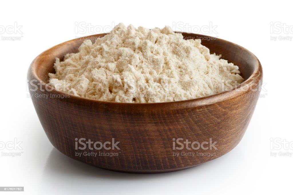 White flour stock photo