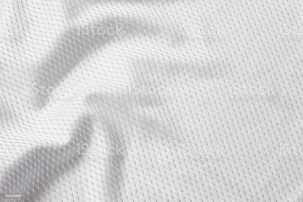 White football jersey stock photo