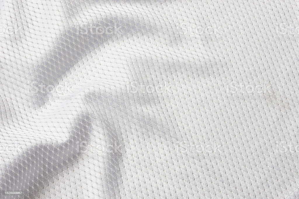 White football jersey stock photo