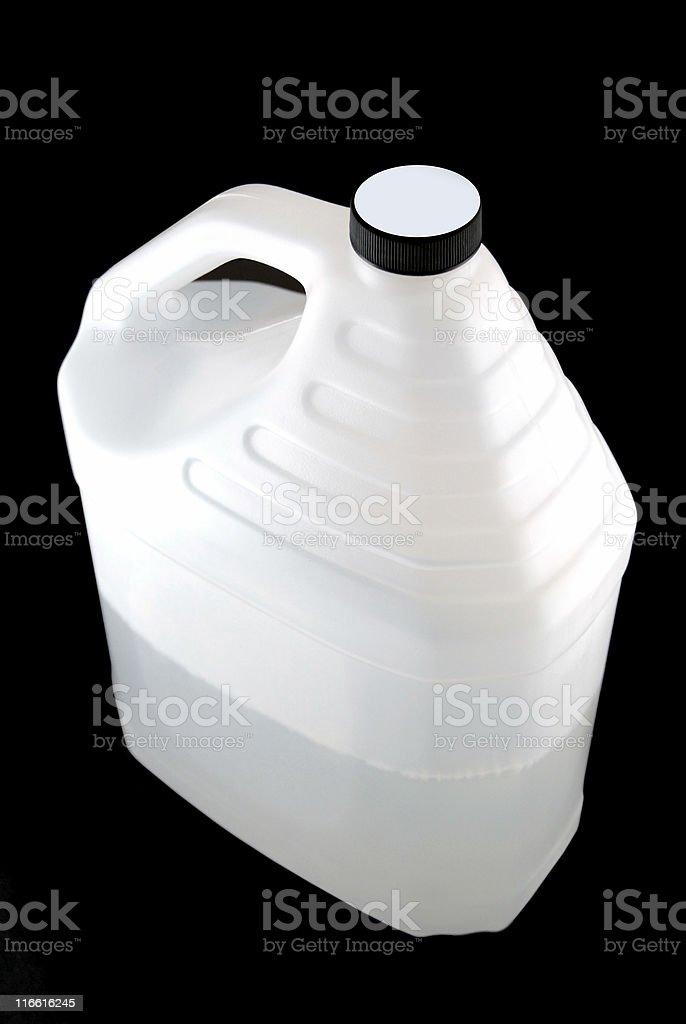 White Gallon Container stock photo