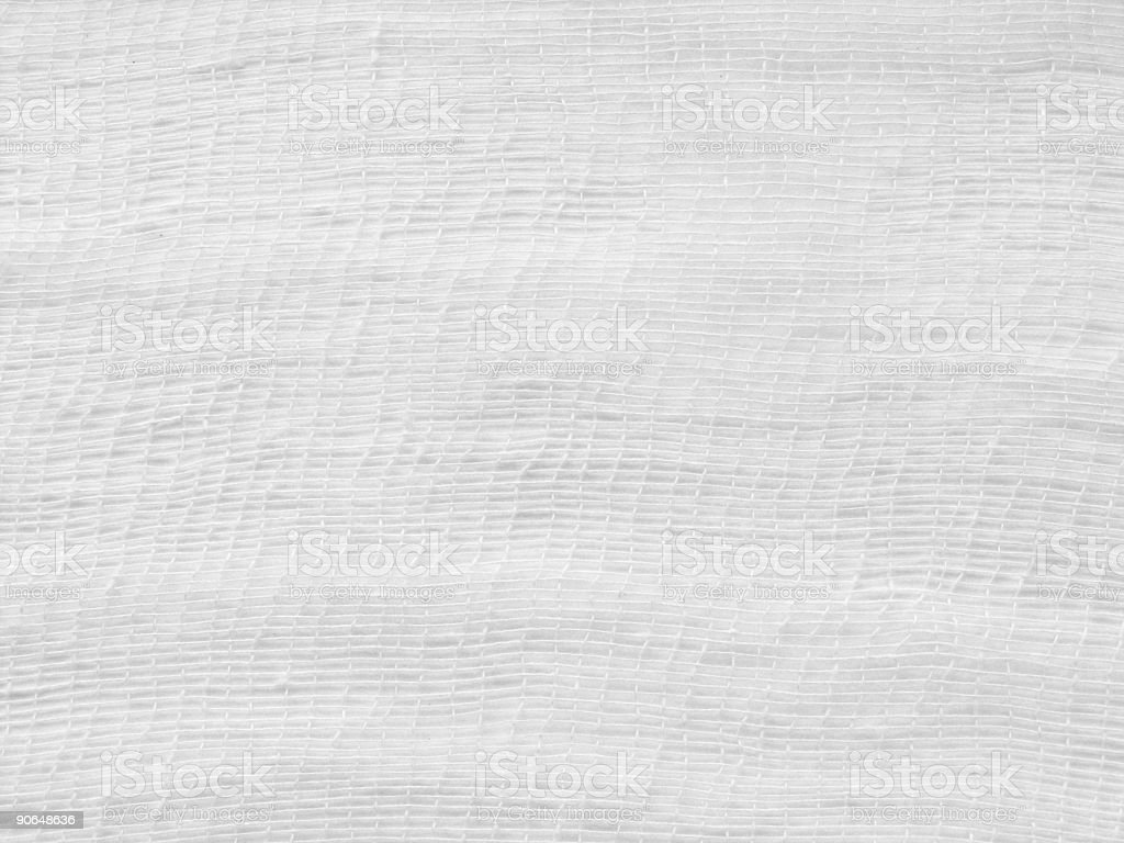white gauze detailed stock photo