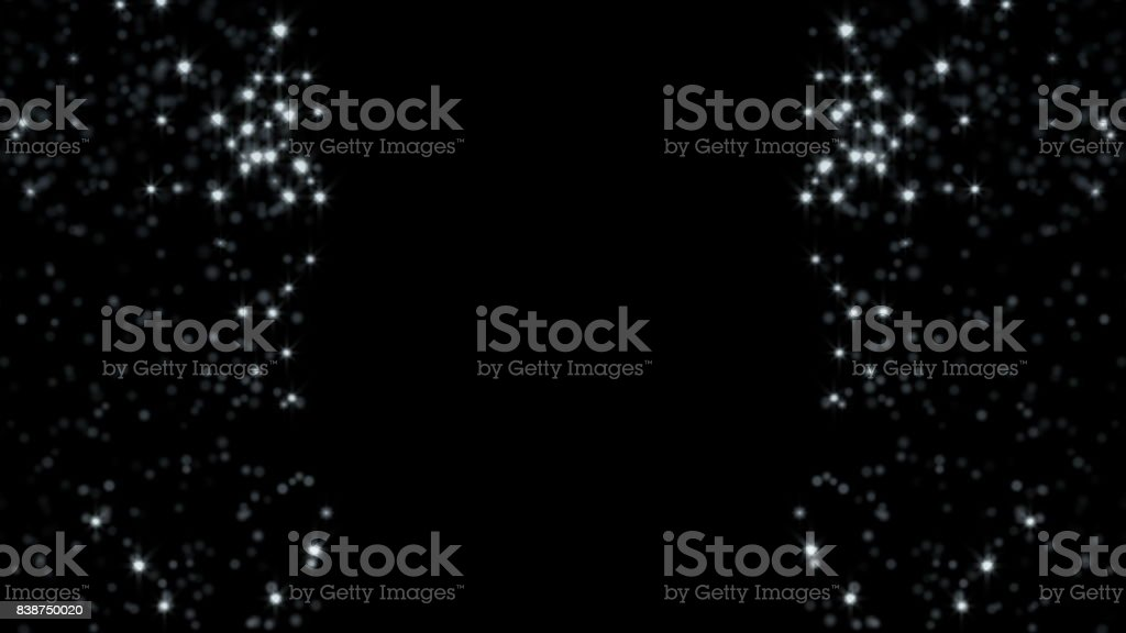 White glitter background stock photo