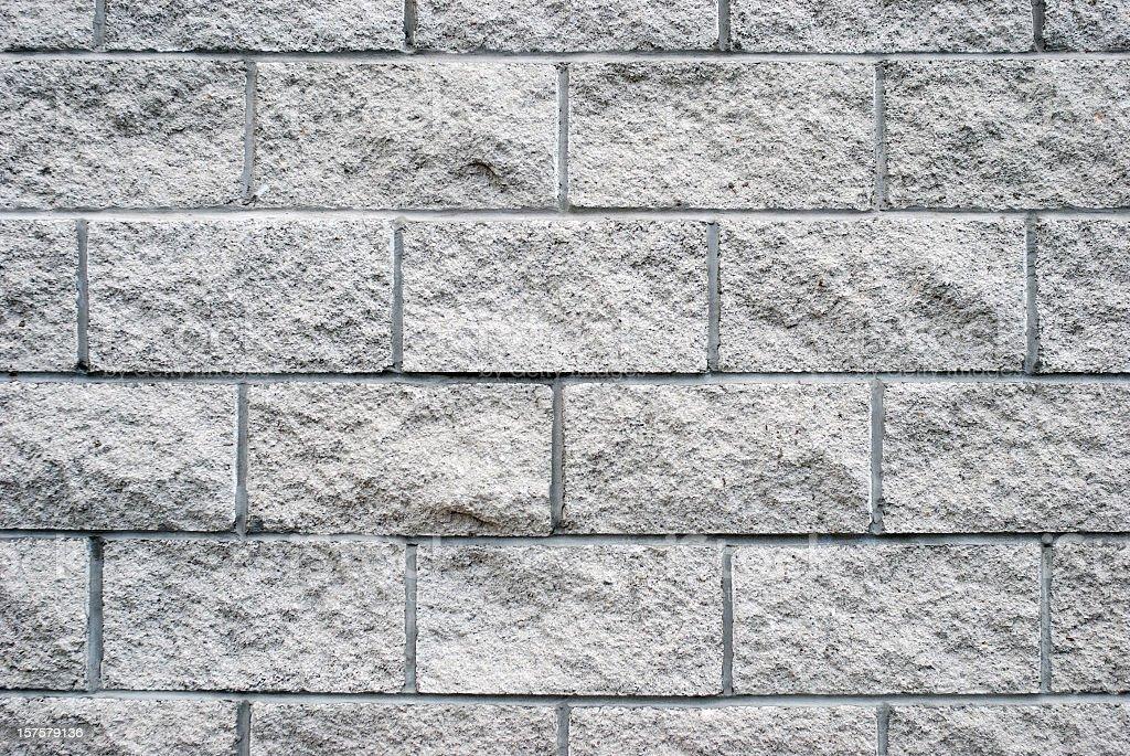 White granite brick wall texture royalty-free stock photo