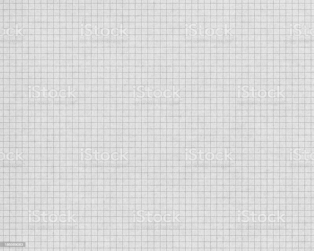 white graph paper with gray lines vector art illustration