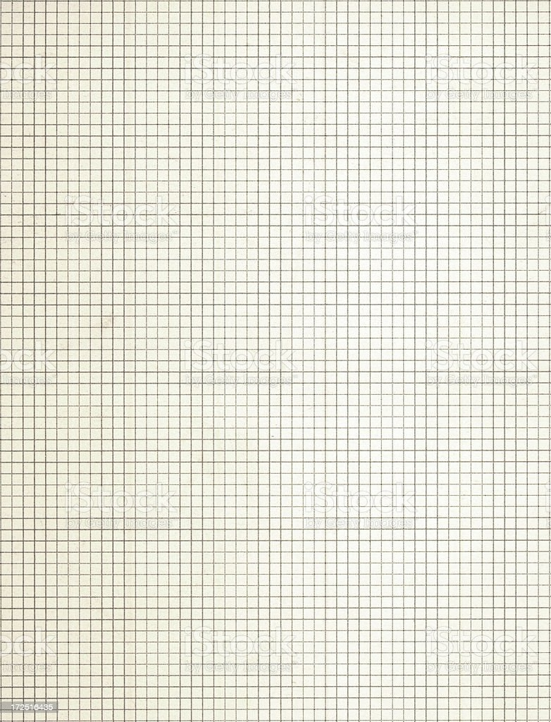 white grid paper royalty-free stock photo