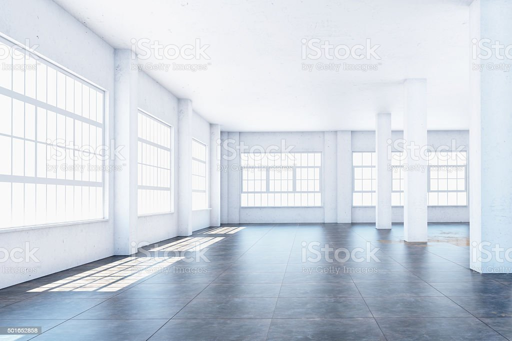 White hall stock photo