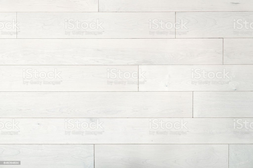 White hardwood maple floor stock photo