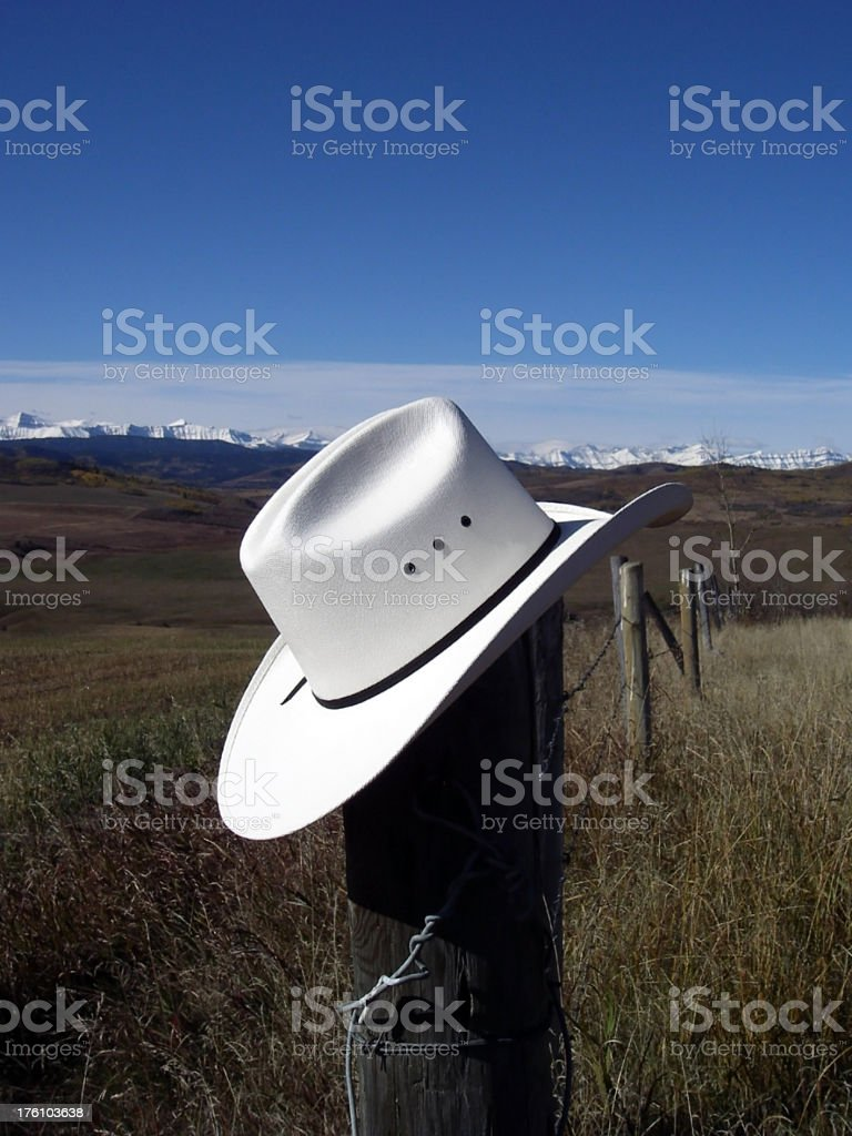 White Hat royalty-free stock photo