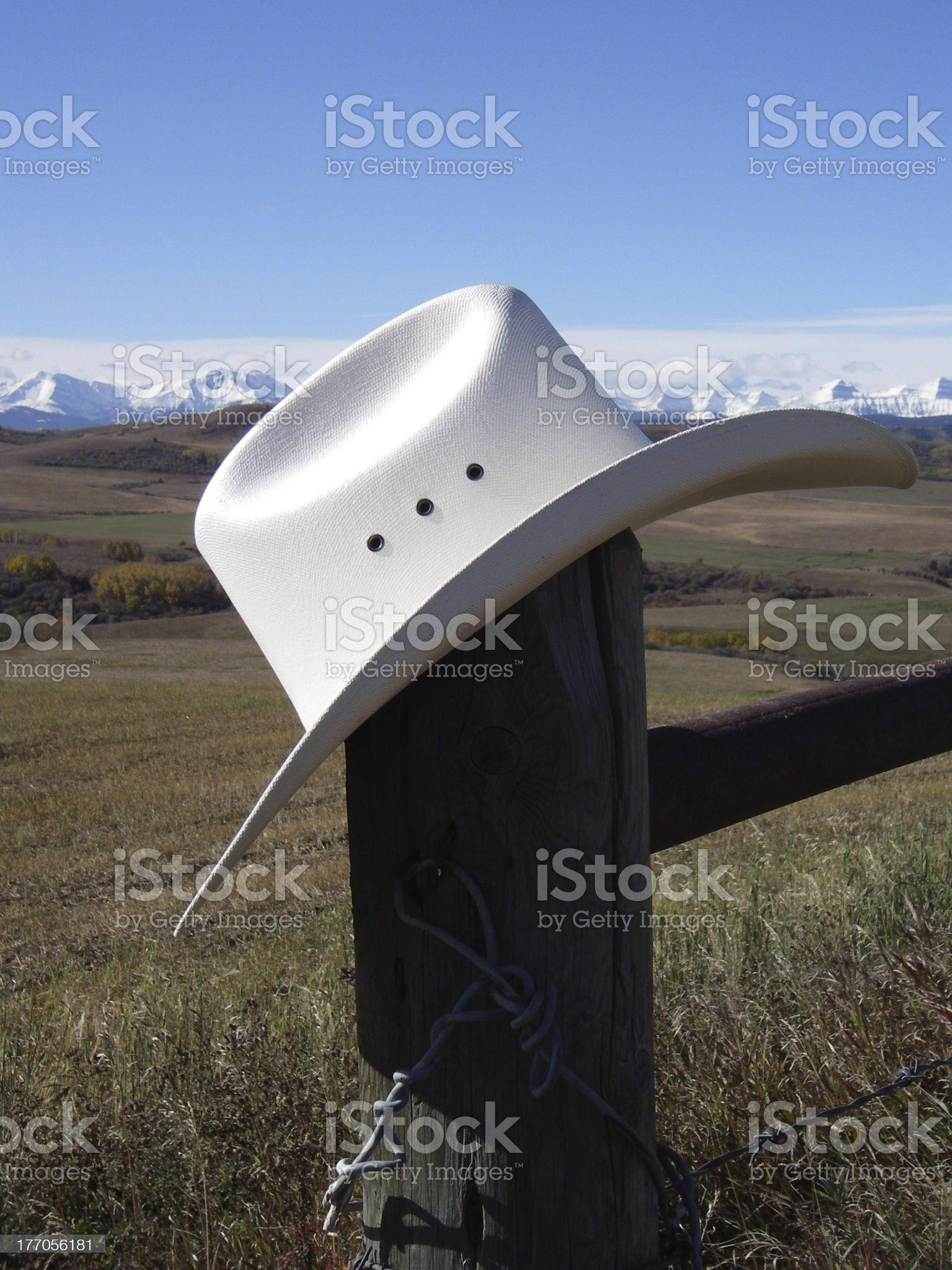 White Hat royalty-free stock photo
