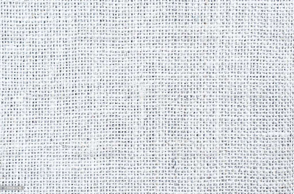 White Hessian Weave Texture royalty-free stock photo