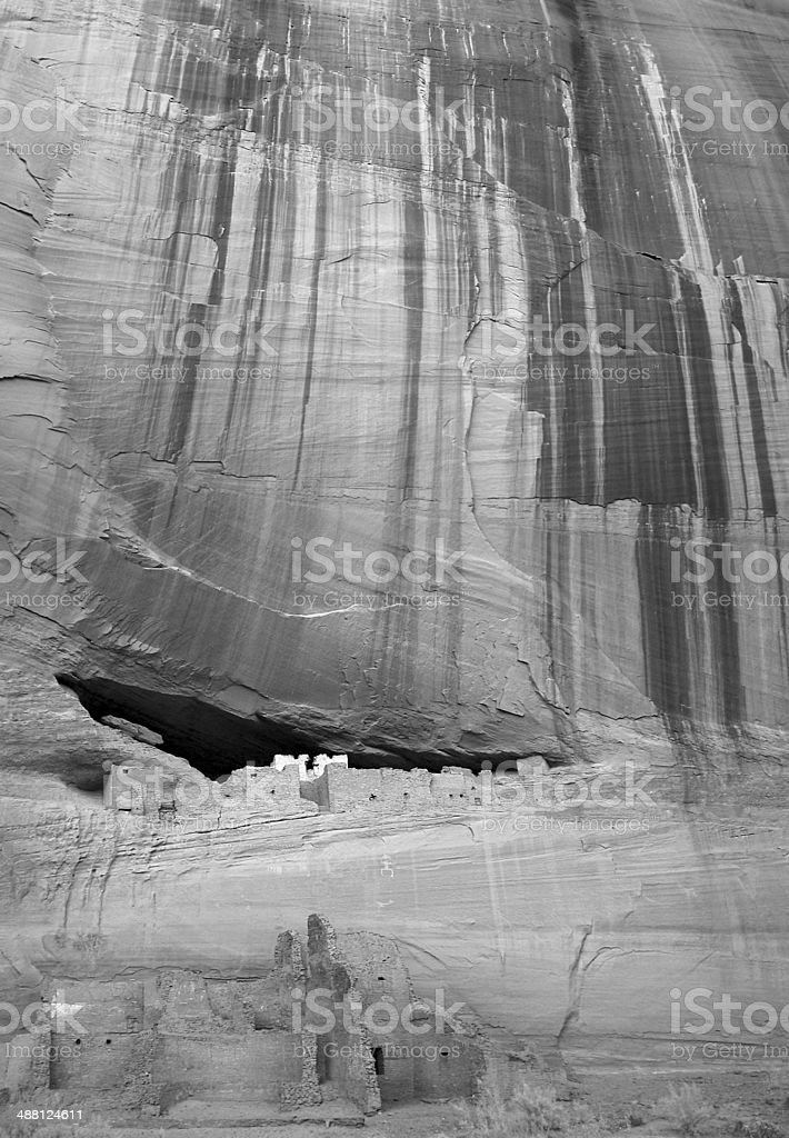 White House at Canyon De Chelley, with perspective! stock photo