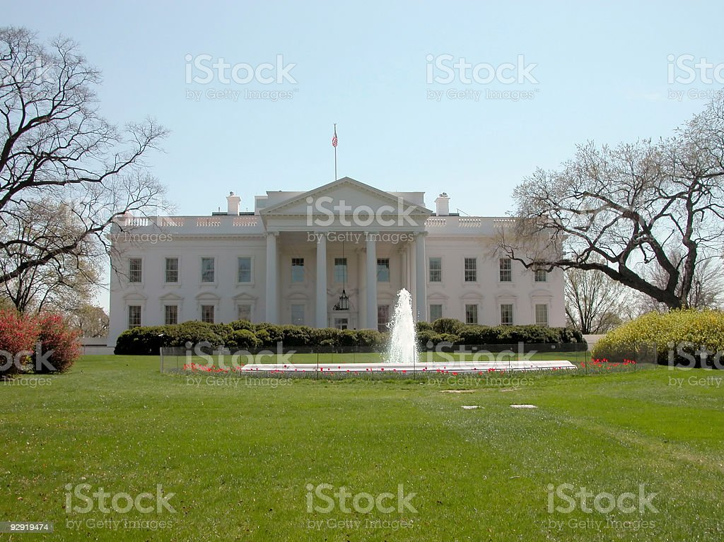 White House - D.C. royalty-free stock photo