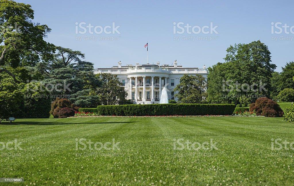 White House in Washington, D.C. USA stock photo