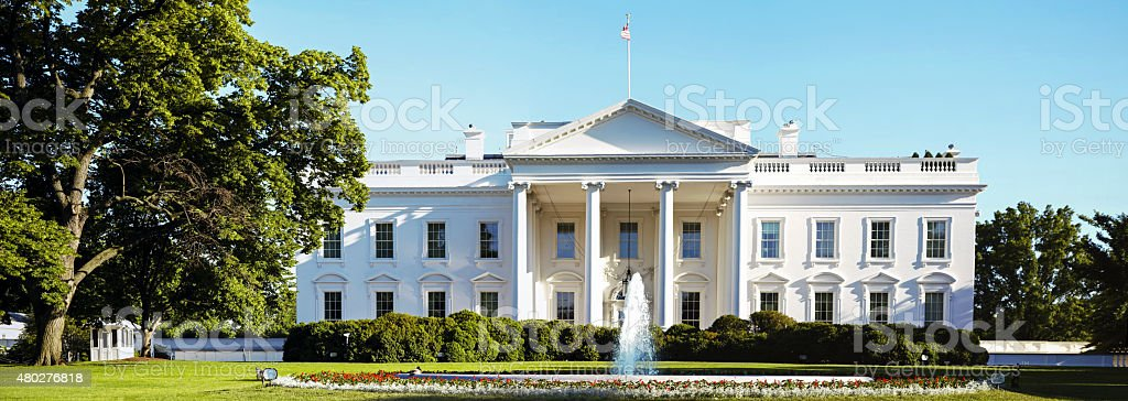 White House in Washington DC # 3 XXXL stock photo