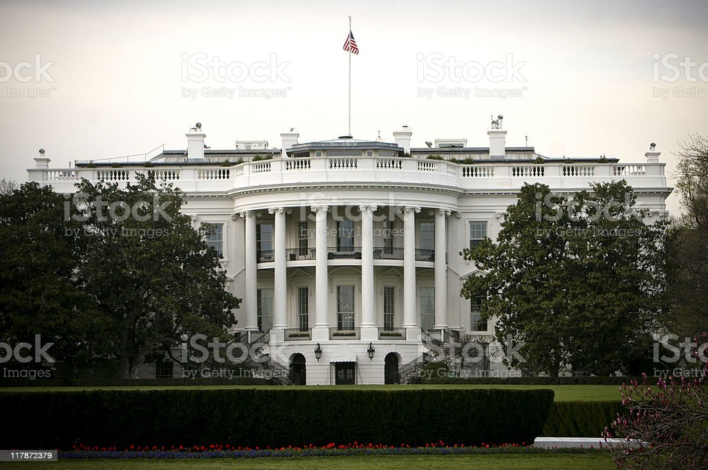 White House royalty-free stock photo