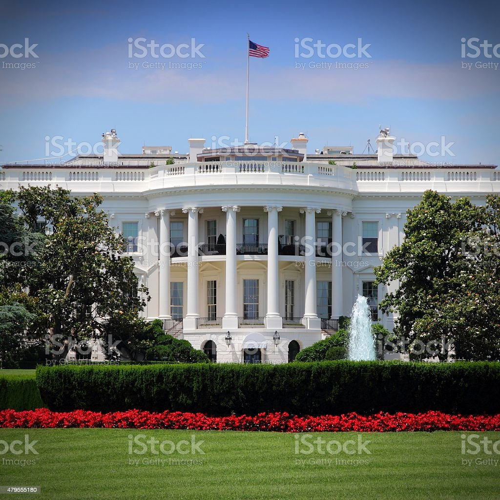White House stock photo