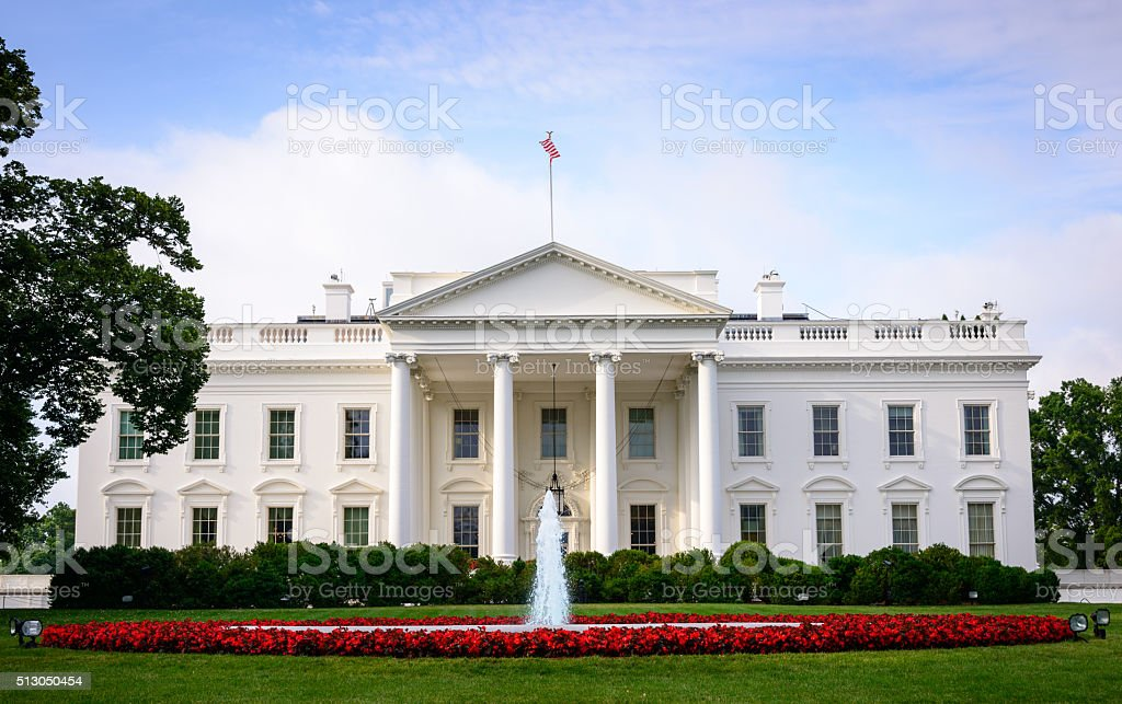 White House stock photo