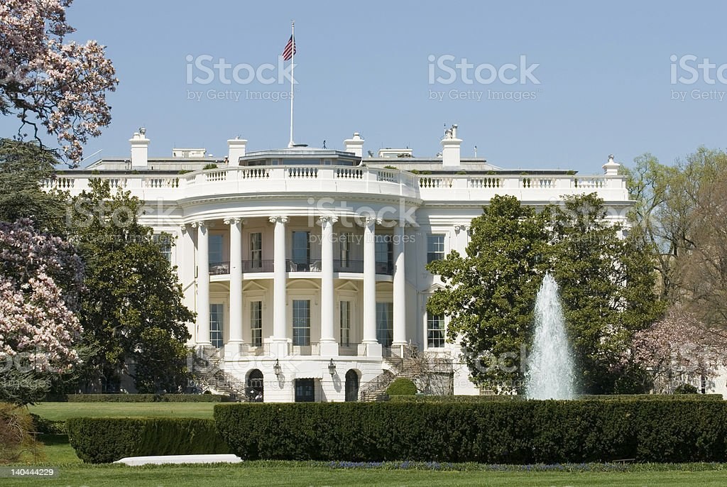 White House President the United States of America 02 royalty-free stock photo