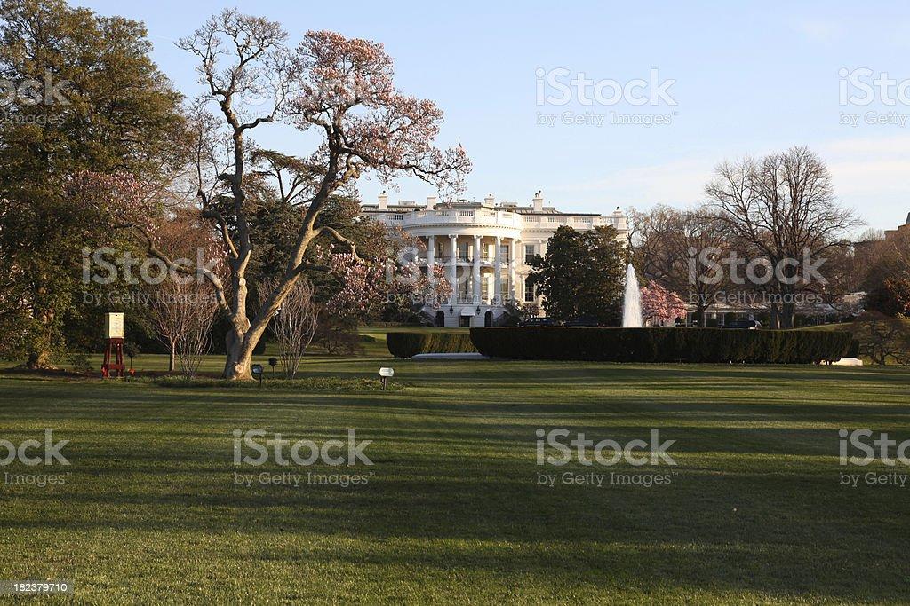 White House Sunrise (South) royalty-free stock photo