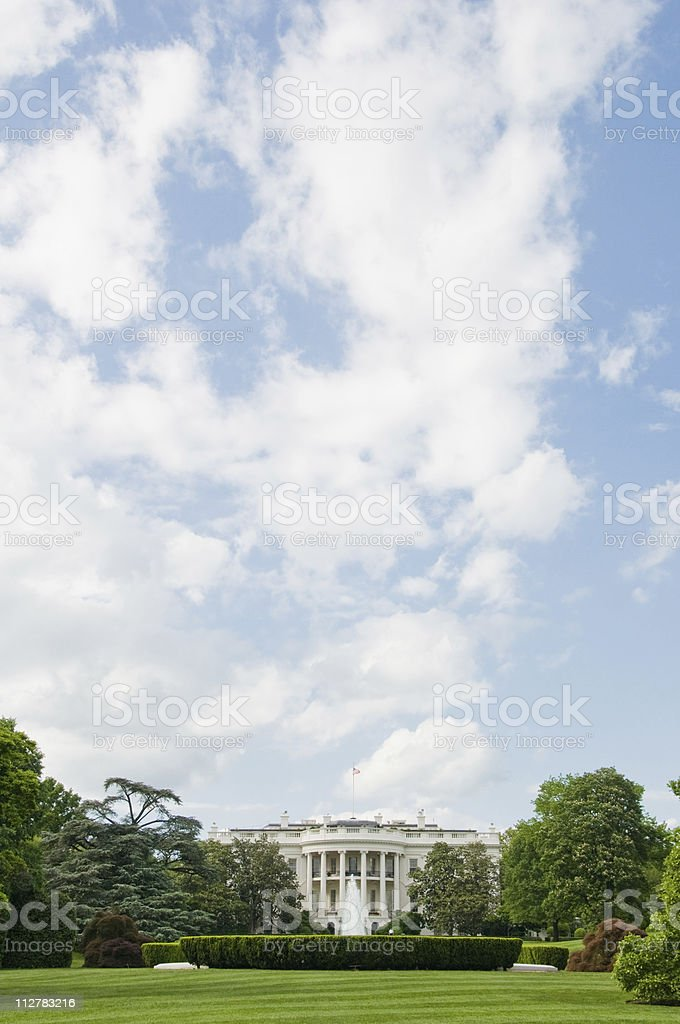 White House, Washington, DC royalty-free stock photo