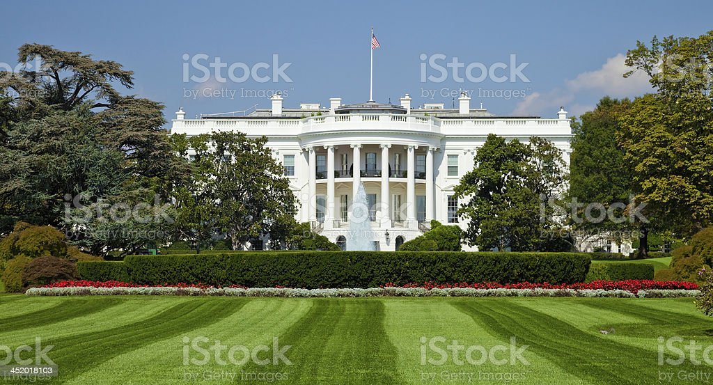 White House, Washington D.C. stock photo