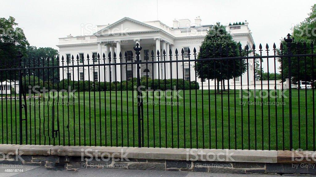 White House Washington D.C stock photo