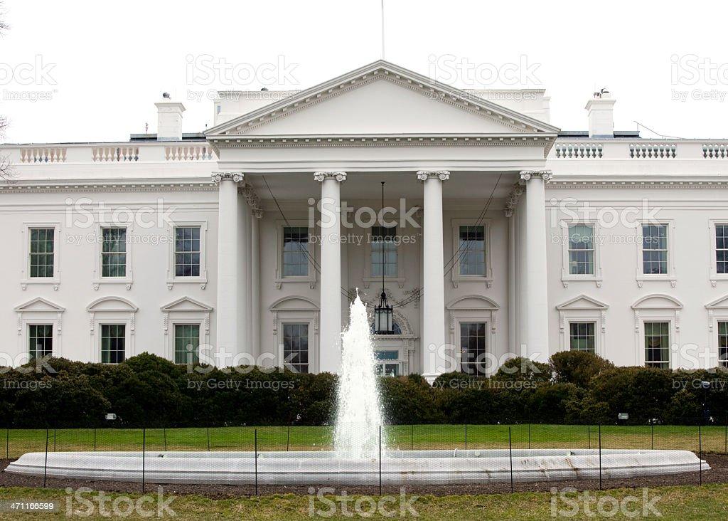 White House Washington DC royalty-free stock photo