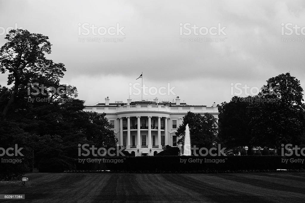 White House - washington DC stock photo