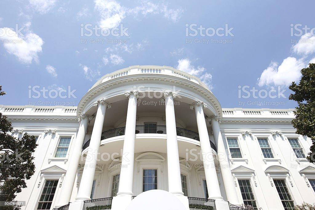 White House Washington DC stock photo