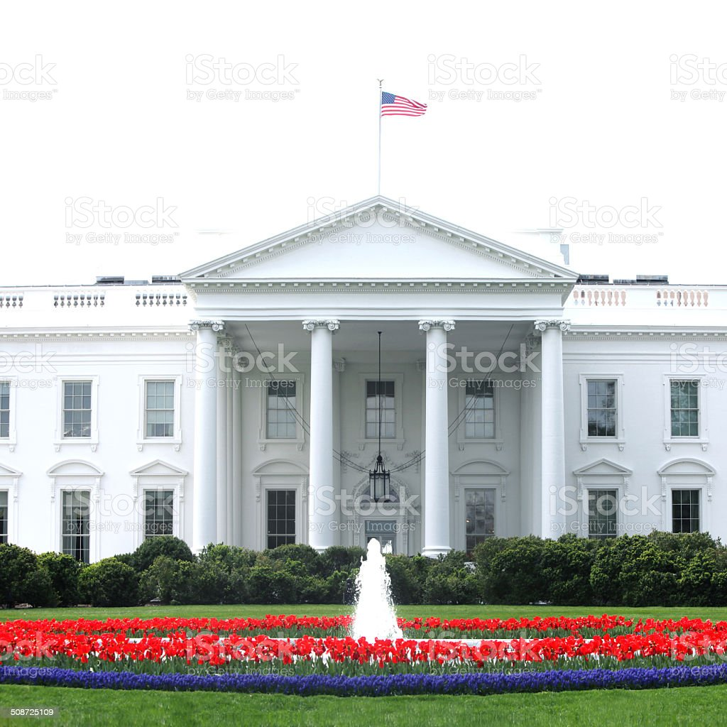White House Washington DC stock photo