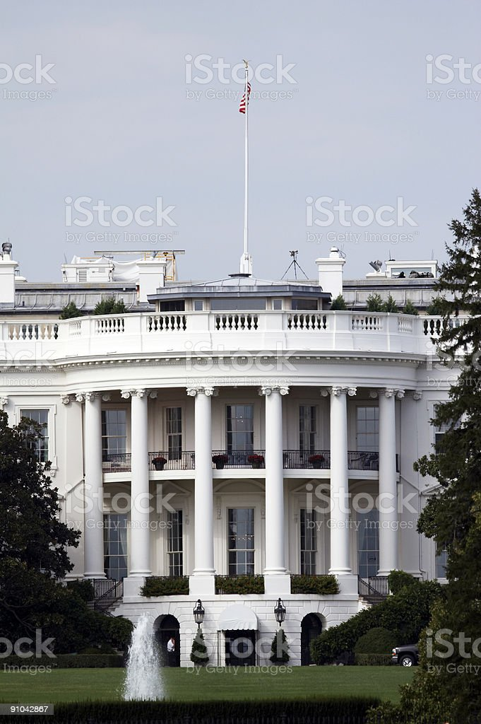 White House, Washington DC royalty-free stock photo