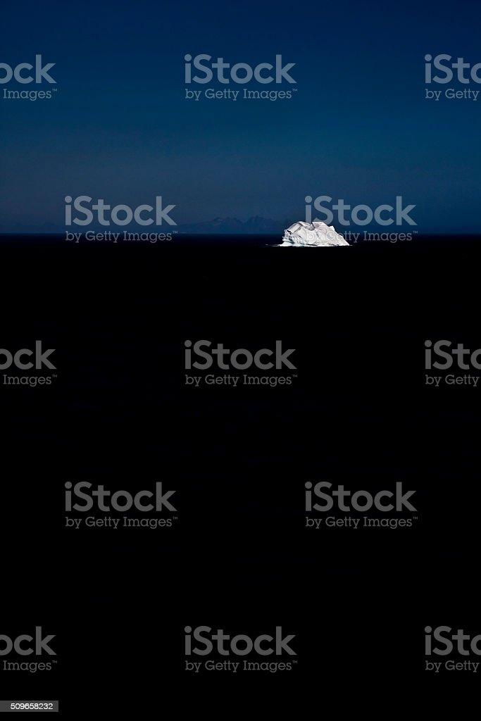White Ice stock photo