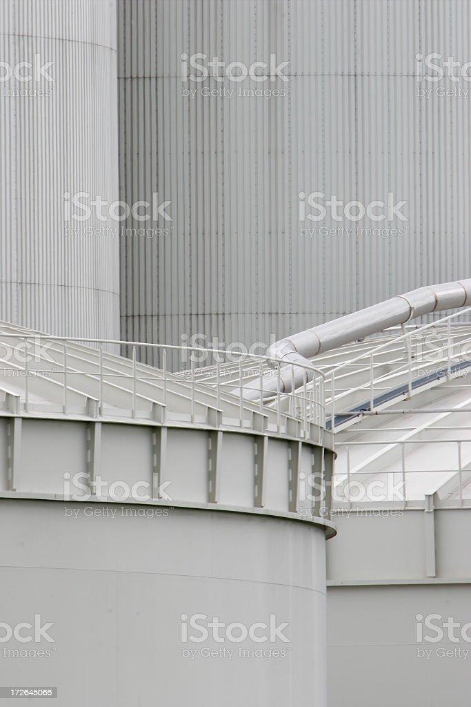 White Industrial stock photo