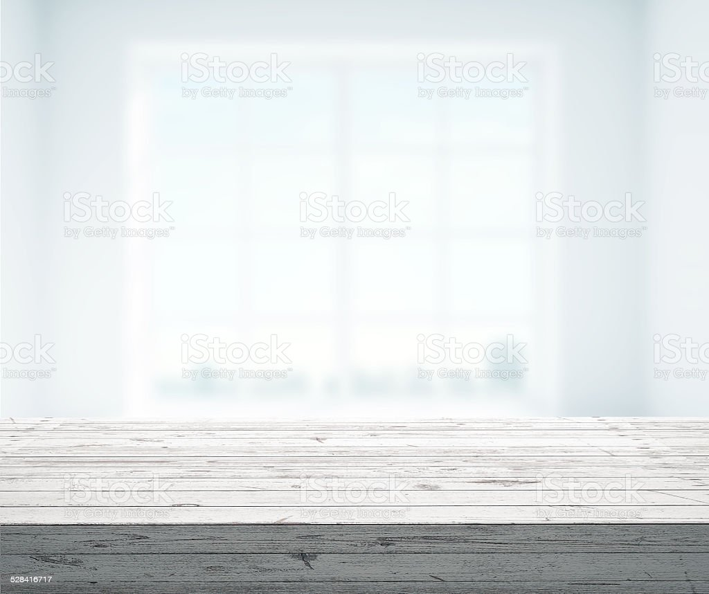 white interior stock photo