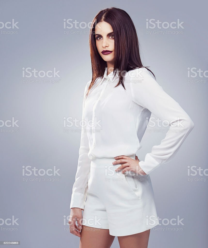 White is the new gray stock photo