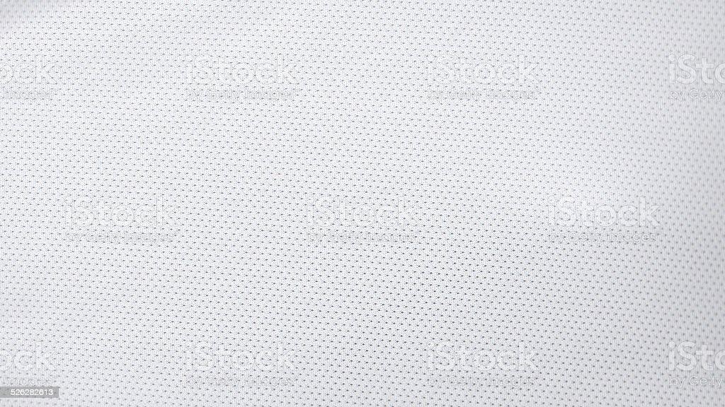 White Jersey Pattern stock photo