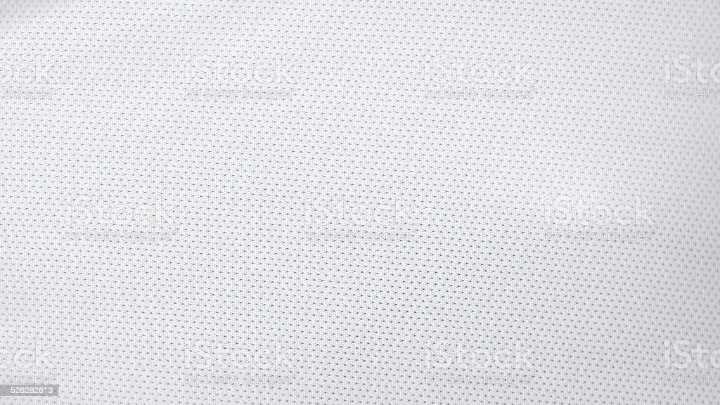 White Jersey Pattern stock photo