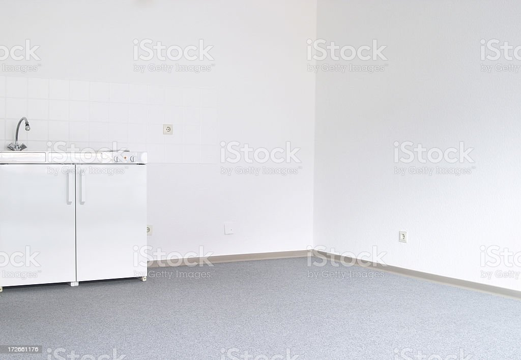 white kitchen royalty-free stock photo