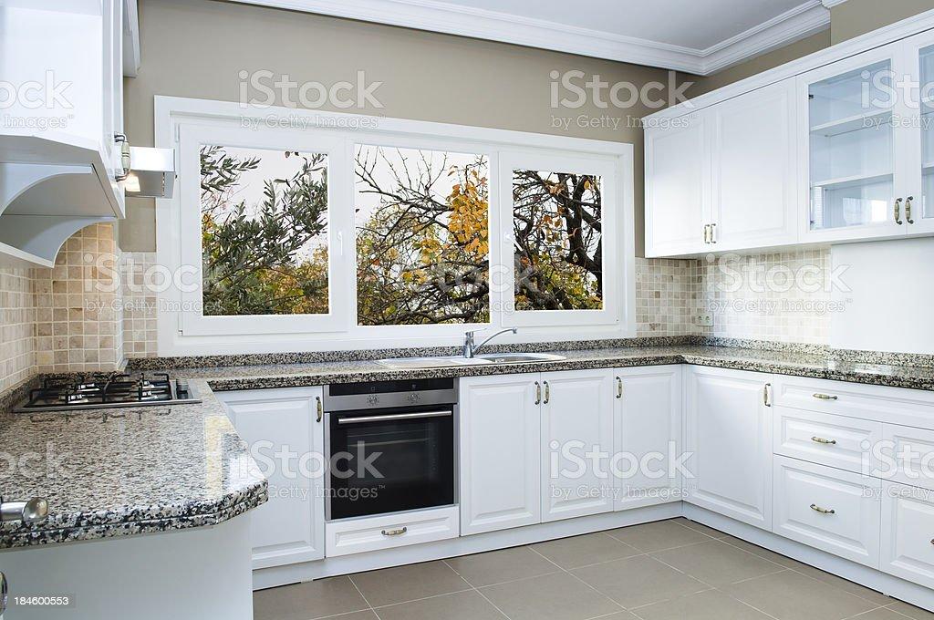 White Kitchen royalty-free stock photo