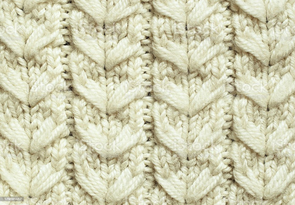 White knitted background royalty-free stock photo