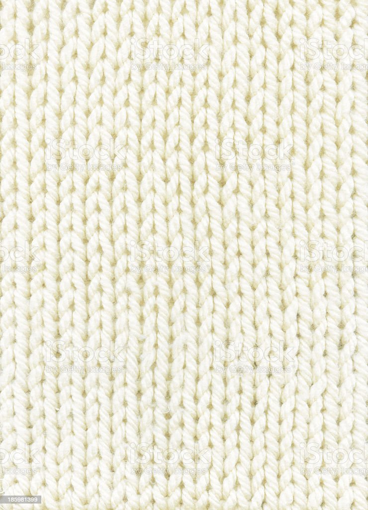 white knitted background stock photo