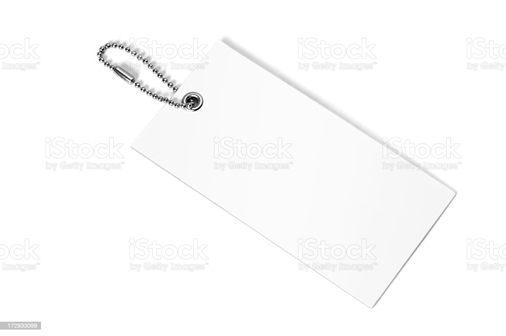 White label stock photo