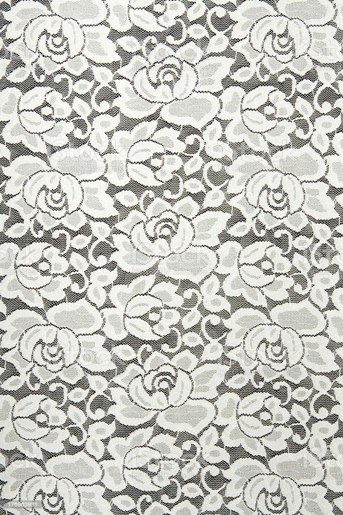 White lace stock photo
