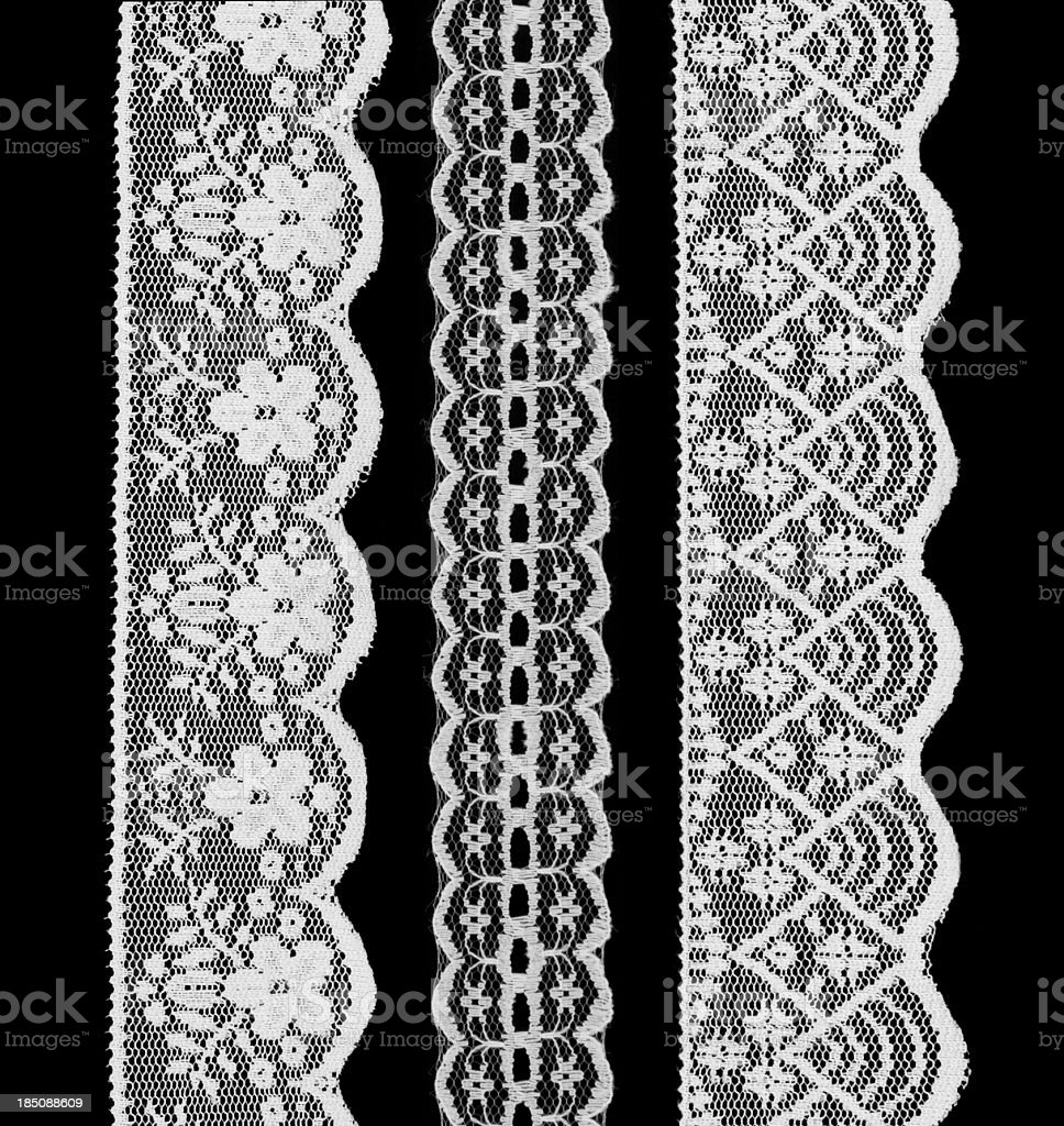 white lace stock photo