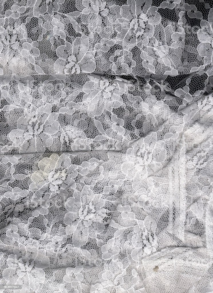 white lace royalty-free stock photo