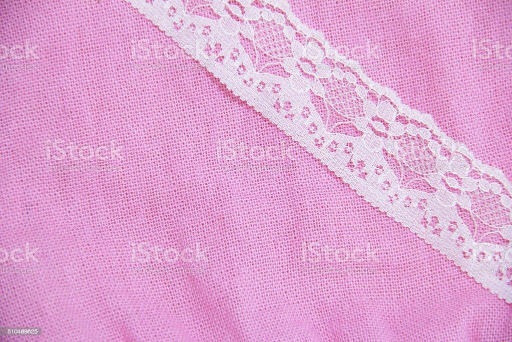 Dentelle blanche avec des textiles Tisserand photo libre de droits