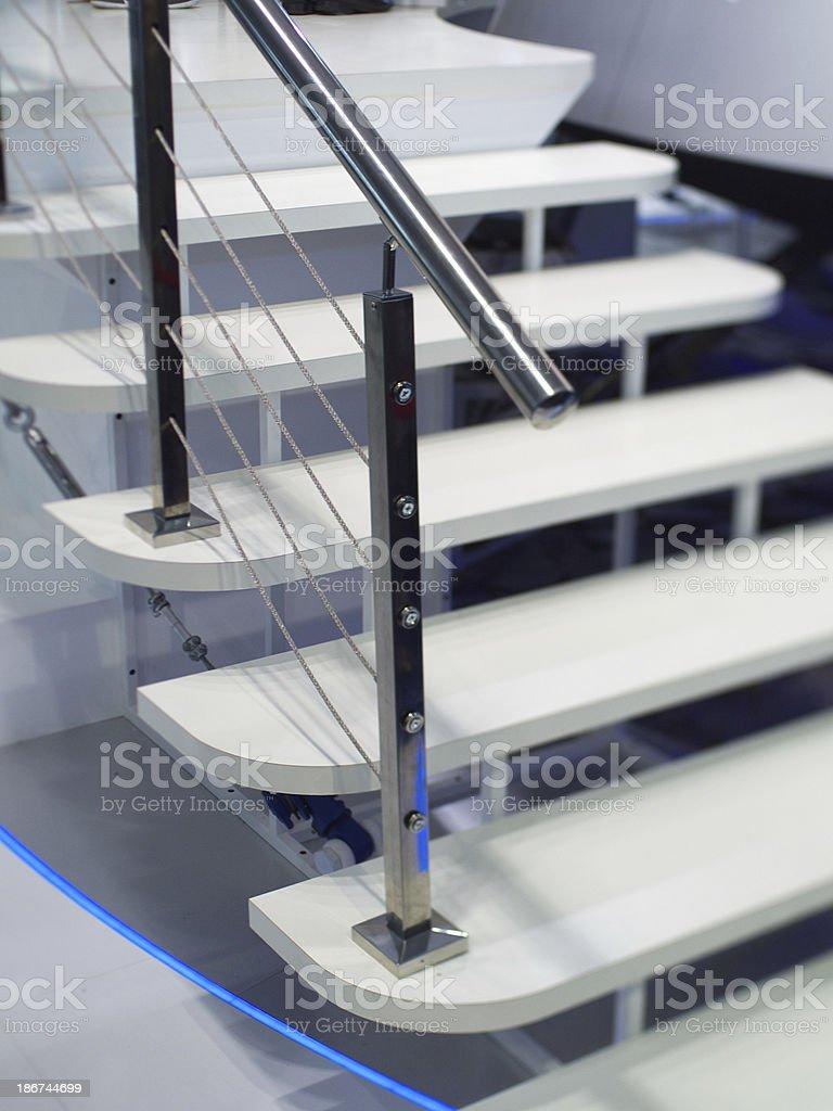 White Ladder stock photo