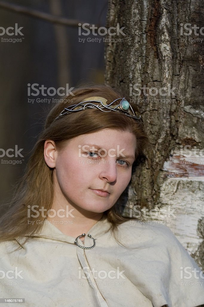 white lady royalty-free stock photo