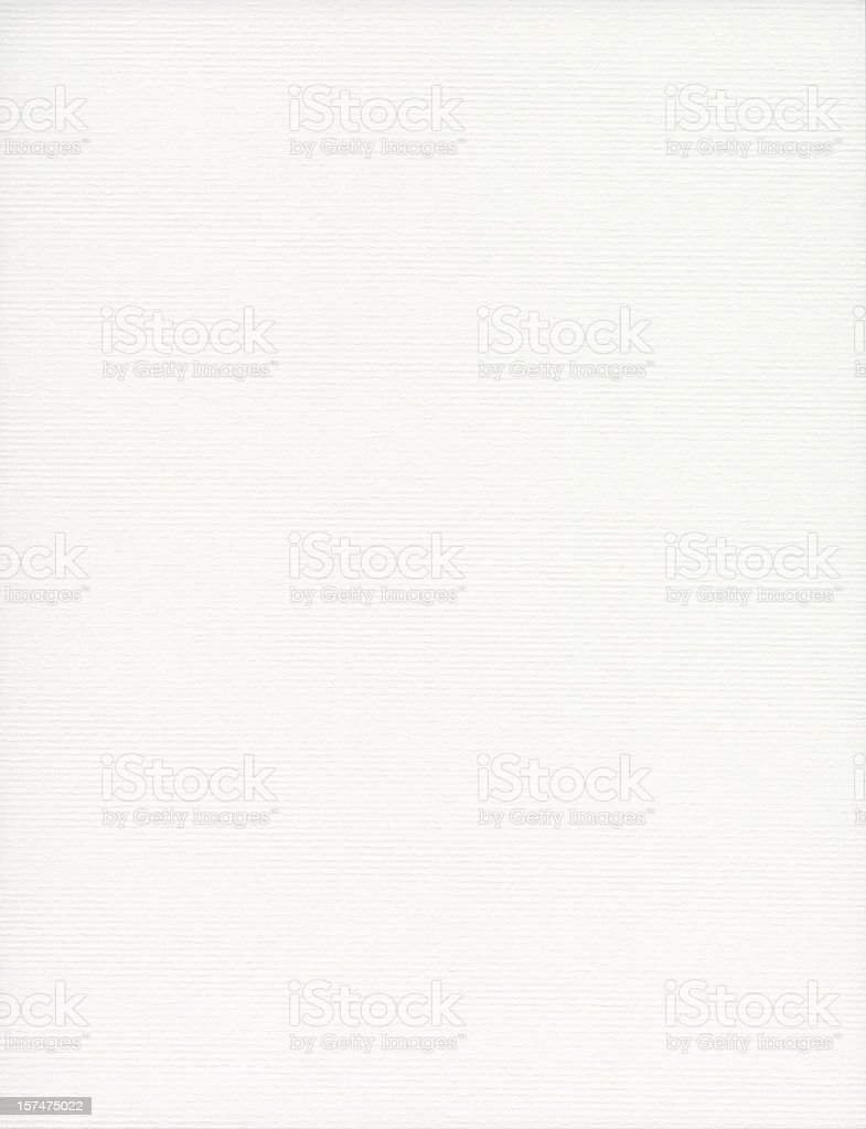 White Laid Paper With Subtle Pattern stock photo