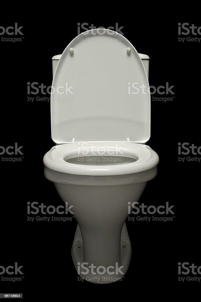 white lavatory pan # 1 stock photo